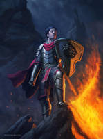 Eric, the Cavalier by RoBs0n