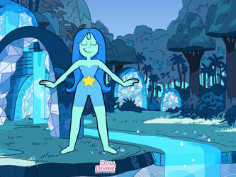 My steven universe OC Aquamarine by coolcaro101