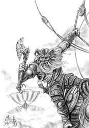 Troll Crystal Raider by Maik-Schmidt