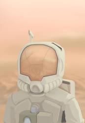 Astronaut Speedpaint by Heart-und-Seoul