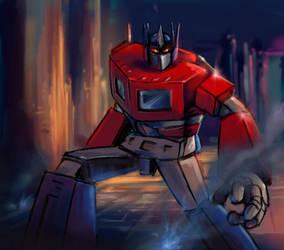 transformer - Optimus Prime by matsuru