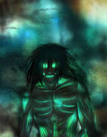 Attack on Space: Eren Titan by xNepquiusx