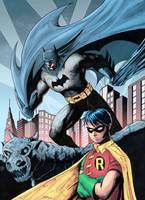 Batman and Robin by J-Rayner