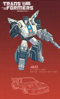 Jazz poster by J-Rayner