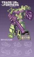 Devastator poster by J-Rayner