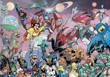 Childhood Cartoons: Remix by J-Rayner