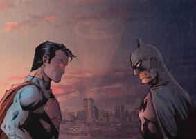 Batman v Superman by J-Rayner