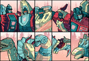 The Dinobots by J-Rayner