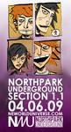 Northpark Underground 04.06.09 by neworlder