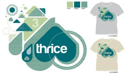 Thrice Design Contest Entry by neworlder