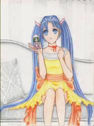 Keika and Tea by vanillain0cence