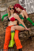 Harley Quinn and Poison Ivy 3 by Insane-Pencil