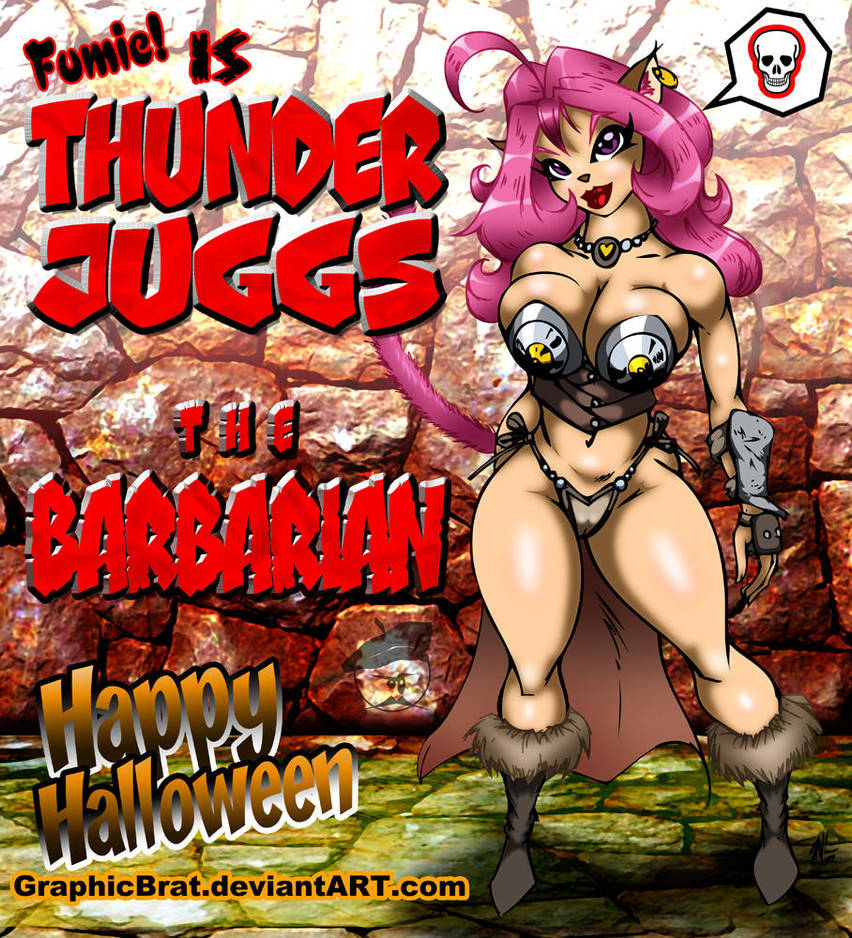Halloween Barbarian Fumie by GraphicBrat