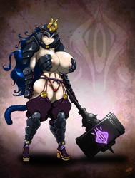 Slutty Bitch Warlord of TERROR! by GraphicBrat