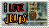 I love jeans - STAMP by pofezional