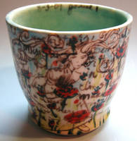 Journal cup - 8-3-09 by trickypink