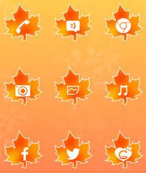 #03 Orange Autumn by ALExIA483