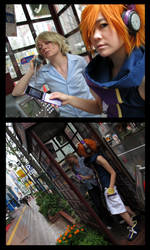Twewy Cosplay -- Phone Booth by Tacotits