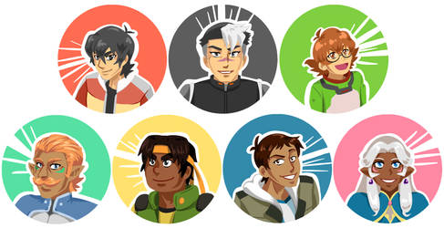 Voltron - Full Cast by Tacotits