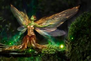 The Golddust Fae Nini by theogroen