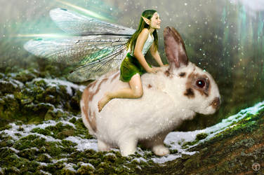 Bunny fae by theogroen