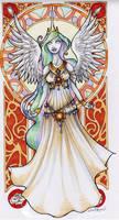 Princess Celestia by echostar