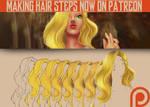 Making hair tutorial by alexiafelix