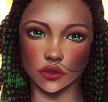 Green soul by alexiafelix
