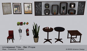 Game Bar Props by thadeemon