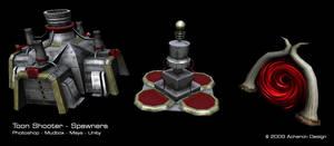 Toon Spawner Models by thadeemon