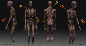 Tortured Soul - Zbrush Screens by thadeemon