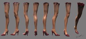 Severed Leg by thadeemon