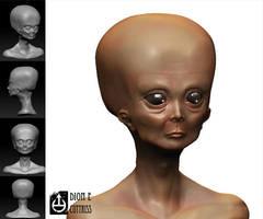 Starchild Skull by thadeemon