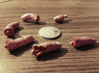 Little Severed Fingers by thadeemon