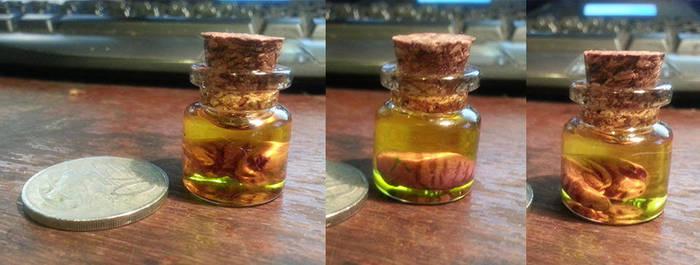 Mini Alien Fetus in a Jar by thadeemon