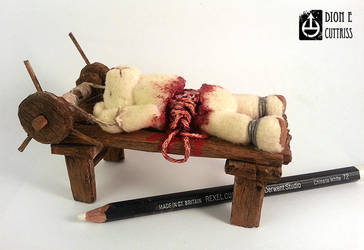 Mini ted on torture rack by thadeemon