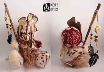 Custom shaman-zombie teddy I made by thadeemon