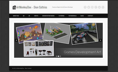 My Website is finally up! by thadeemon
