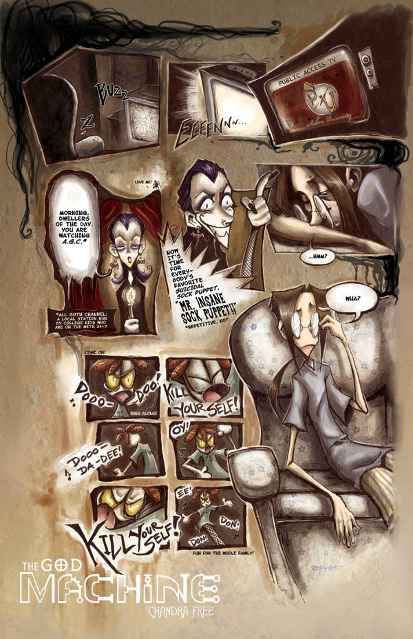 FINISHED Book 1 pg 2 by TheGodMachineComic