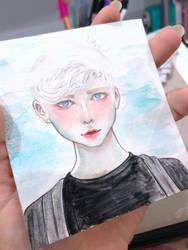 Portrait  by mokoriko-tqi