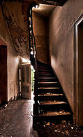 Cafe S. Stairs by stengchen
