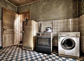 Grandma's kitchen by stengchen