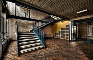 School Stairs by stengchen