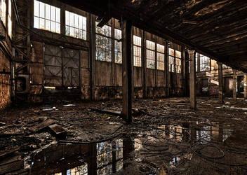 Hall Of Windows by stengchen