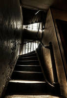 Haunted Stairs by stengchen