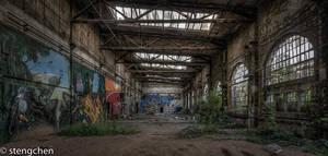 Jungle Factory by stengchen