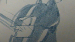 Bat-Cycle Helmet by NickParamonte