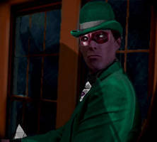 John Glover as The Riddler by NickParamonte