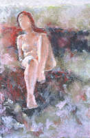 Redhead Nude Study by tutanvaly