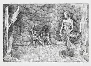 Ballerine - Sketch no #014 by tutanvaly